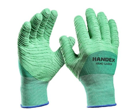 Luva Nitrilon Handex Hand Garra Verde  Ca 41627