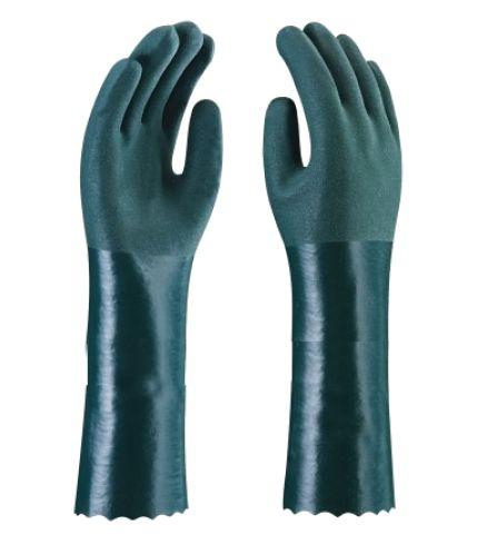 Luva de PVC - C/F 35cm - Plastcor - Tam. 9,5 - C.A. 34570