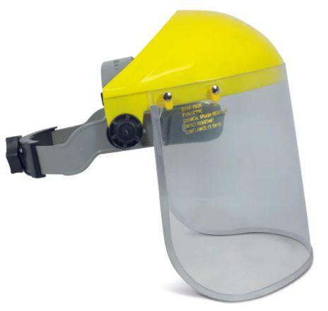 Protetor Facial com Borda de Metal - PROTEPLUS - CA.40338