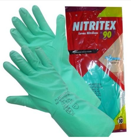 Luva Nitrilica NITRITEX 90 - C.A 34142