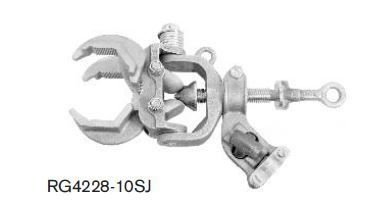 RG4228-10SJ - Grampo de Aterramento Multi-Angular
