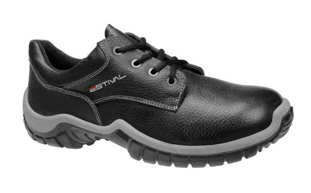 Sapato de Amarrar ESTIVAL -PVC Preto - WO10041S1 - CA: 44576