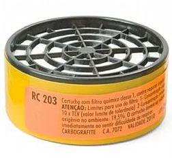 Filtro Quimico VO/GA - RC 203 - Carbografite