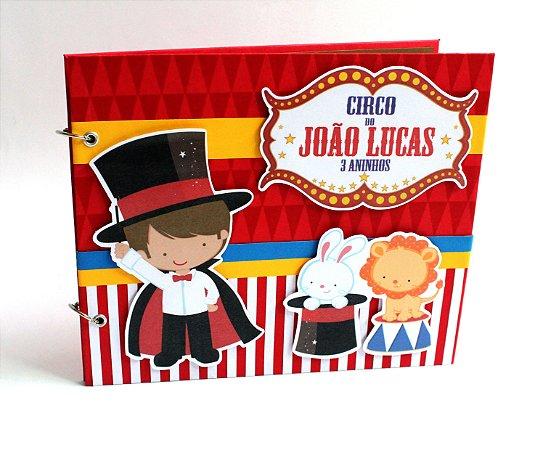Álbum Infantil tema Circo