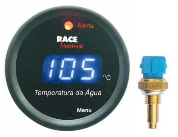 9ebf8481841 Medidor Temperatura Da água Digital Azul Racetronix - GTO SHOP