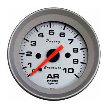 3ffa91d0c8c Manômetro 52mm Ar 10kg Racing - GTO SHOP