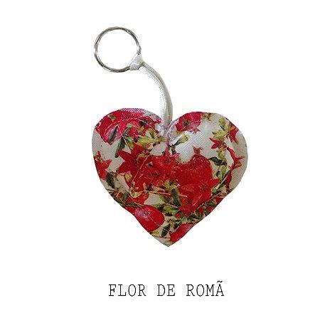 Chaveiro Coração Exclusivo Potti Romã