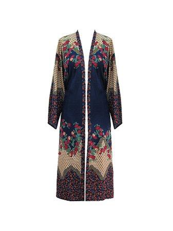 Kimono Longo Amor Nu: Nu Natural