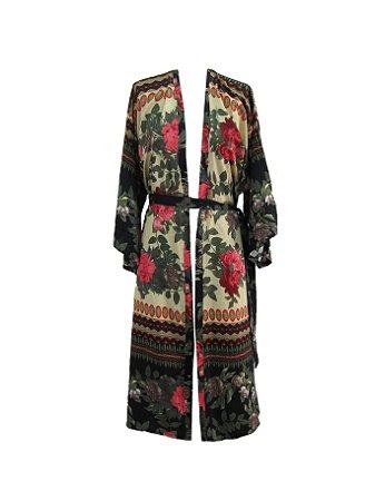 Kimono Longo Amor Nu: Leve Amor
