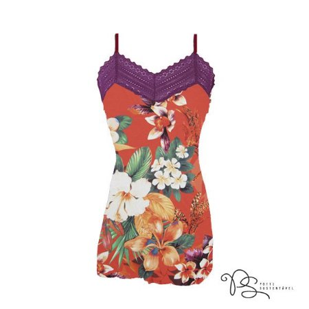 Camisola de Fluity Red Garden / Rouxinol