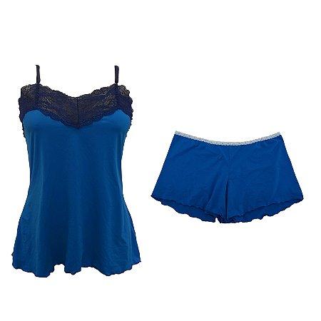 Short Doll de Emana Azul / Marinho