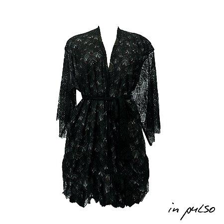 Minicoleção In Pulso: Kimono Duplo Renda / In Pulso