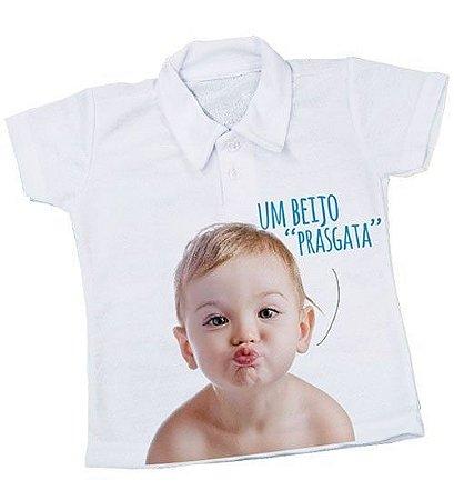 Camisa polo para bebê - Tamanho único