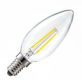 Lampada Led E14 Para Lustre.Lampada Led Vela 5w E14 Ou E27 Bivolt Para Lustre Ou Candelabro