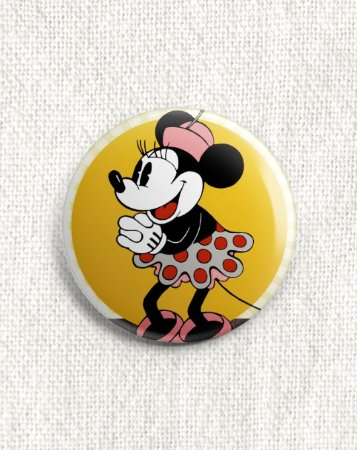 Boton Minnie