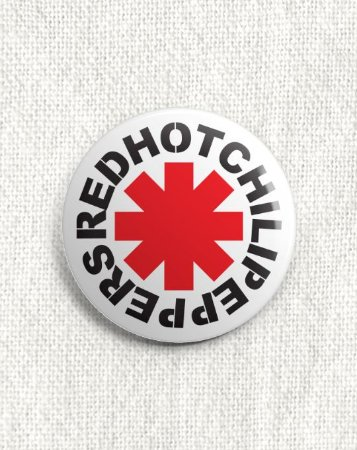 Boton Red Hot Chili Peppers