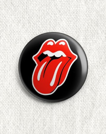 Boton Rolling Stones