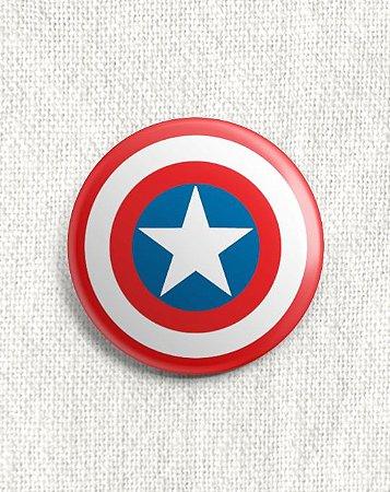 Boton Capitão América
