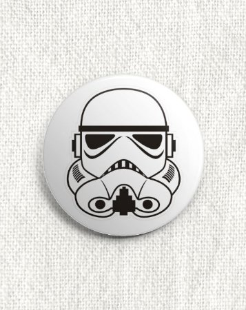 Boton Star Wars - Stormtrooper