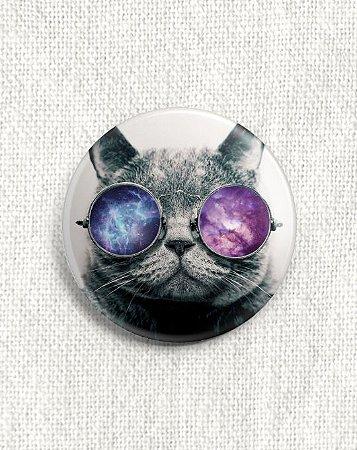 Boton Gato de Óculos