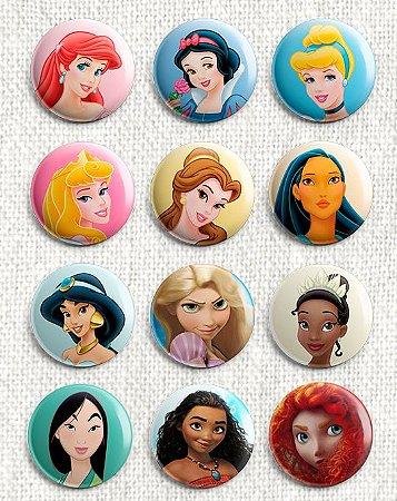 Botons Princesas Disney