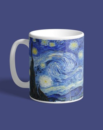 Caneca Van Gogh - Noite Estrelada