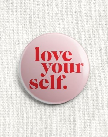 Boton Love Yourself