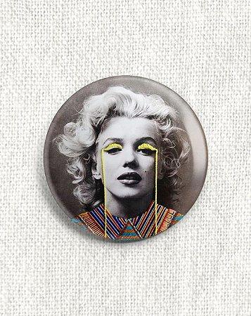 Boton Marilyn Monroe