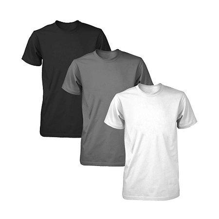 Kit com 3 Camisetas Masculina Dry Fit Part.B Fit
