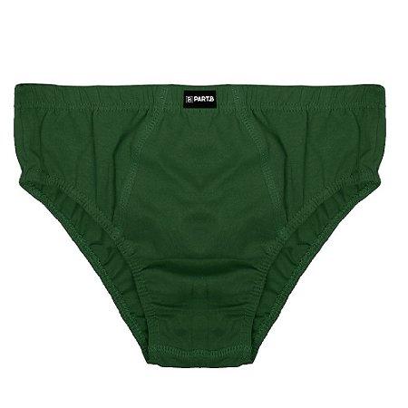 Cueca Slip Infantil Part.B Verde