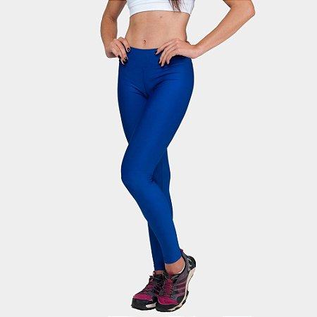 Calça Legging Básica Suplex Azul