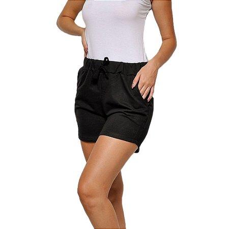 Shorts de Moletim Style Feminino