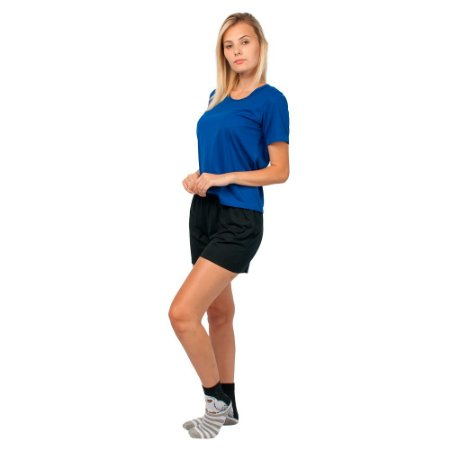 Conjunto Pijama Short Dolll Básico Azul e Preto