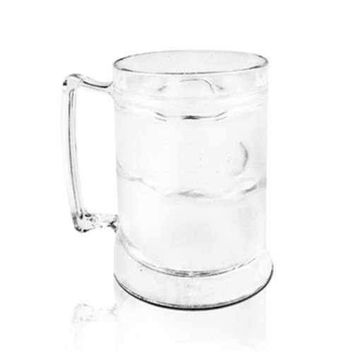 Jogo 10 Canecas Gel Congelante para Chopp - 400ml - Acrílico