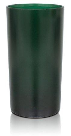 Copo Big Drink 420ml Verde - Policarbonato Texturizado (Personalização apenas em PRETO)