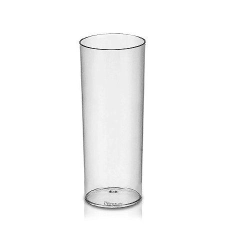 Copo Long Drink Tubo 300ml - Poliestireno Acrilico PS
