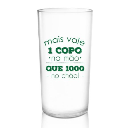 Copo Eco Green Cups Personalizado 500ml Policarbonato
