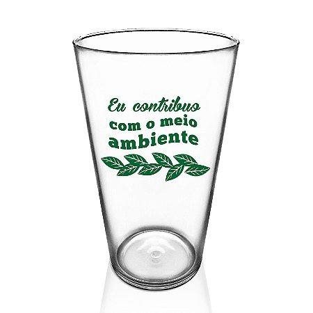 Copo Eco Green Cups Personalizado 550ml Poliestireno
