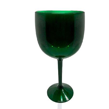 Taça Gin Verde 550ml - Poliestireno Acrilico PS