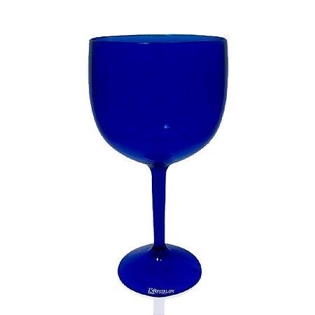 Taça Gin Azul 550ml - Poliestireno Acrilico PS
