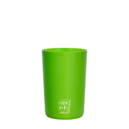 Green Cups 200ml - Copo Eco Cana de Açúcar (Verde)