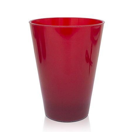 Copo Caldereta 400ml Vermelho - Acrílico