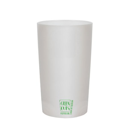 Green Cups 500ml - Copo Eco Cana de Açúcar (Branco)