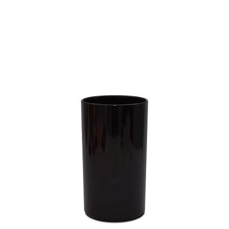 Copo Big Drink 380ml Preto - Poliestireno Acrilico PS