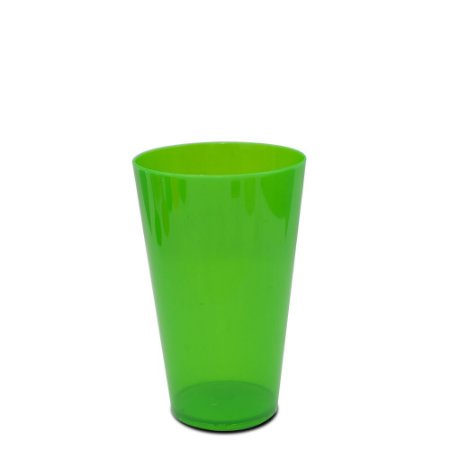 Copo Big Drink 550ml Verde - Poliestireno Acrilico PS