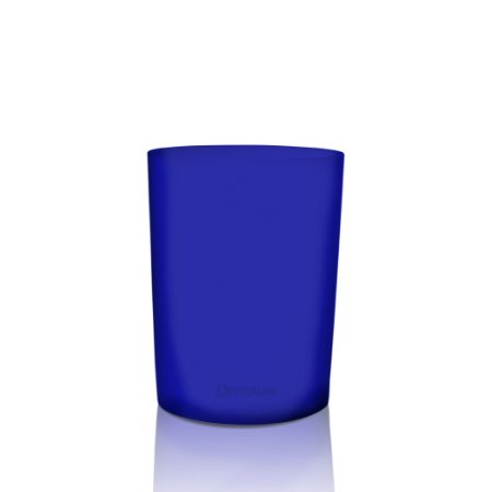 Copo Big Drink 320ml Azul - Polipropileno Texturizado