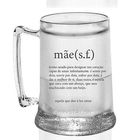 Caneca Gel Personalizada 400ml Criativo Dia das Mães Presente Lembrancinha -  Mãe Sf