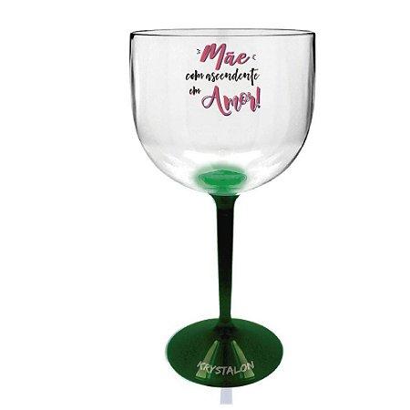 Taça Gin Bicolor 550ml Personalizada Criativa Dia das Mães - Ascendente