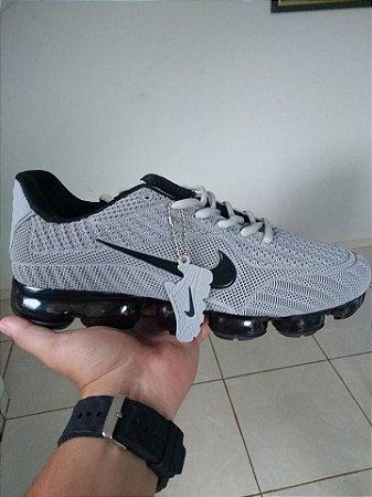 6d7a2348de1 Nike Vapormax 2018 Cinza e preto masculino produto exclusivo sob encomenda  autentico
