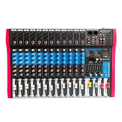 Mesa Analógica 12 Canais Soundvoice MS 122 EUX